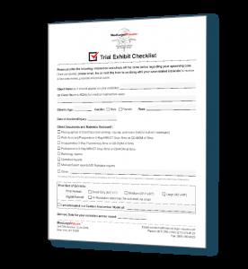 trial graphics checklist